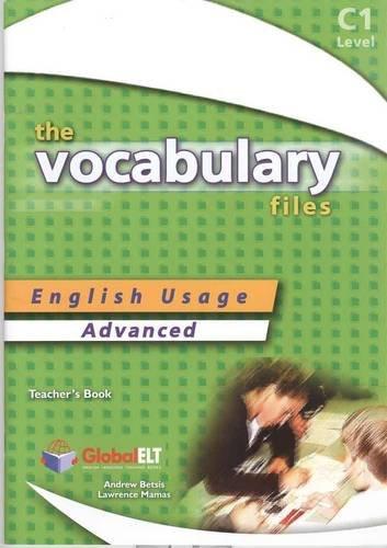 9781904663461: The Vocabulary Files C1 - Teacher's Book