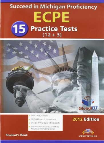 9781904663737: Succeed in Michigan ECPE: 15 Practice Tests