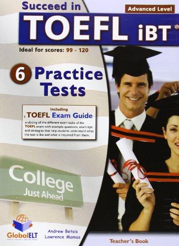 Succeed in TOEFL iBT - Teacher's Book: Betsis, Andrew, Mamas,