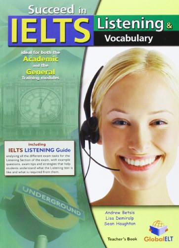 Succeed in IELTS - Listening & Vocabulary: Betsis, Andrew &