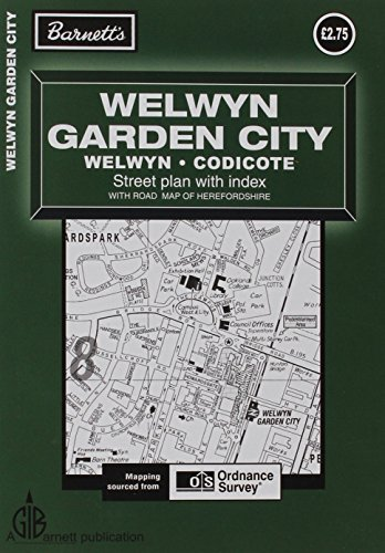 9781904678564: Welwyn Garden City Street Plan (Street Plans)