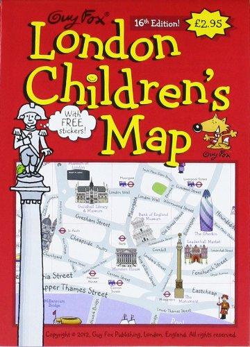 9781904711049: Guy Fox London Children's Map