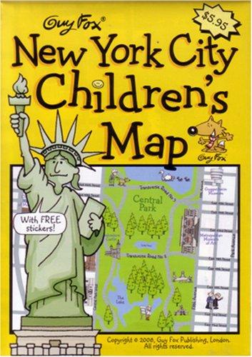 9781904711094: New York City Children's Map by Guy Fox