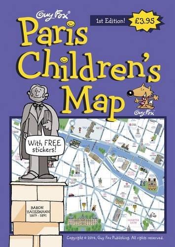 9781904711100: Guy Fox Paris Children's Map