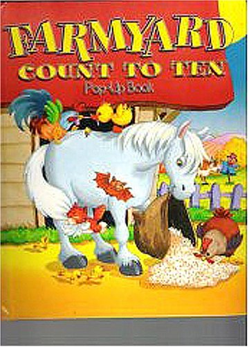 Farmyard Count to Ten Pop-up Book: Illustrated by Gill