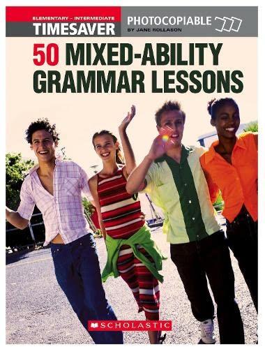 50 MIxed-ability Grammar Lessons (Paperback): Jane Rollason