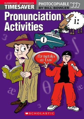 9781904720140: Timesaver Pronunciation Activities Elementary - Intermediate with audio CD