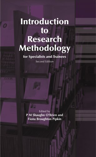 9781904752011: Introduction to Research Methodology for Specialists and Trainees