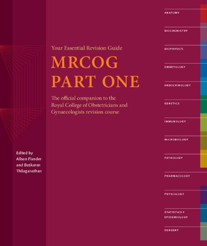 9781904752561: MRCOG Part One: Your Essential Revision Guide: Revision Guide Pt. 1