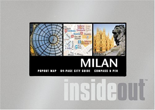 9781904766575: Milan Insideout City Guide with Other and Pens/Pencils and Map (Insideout City Guide: Milan)