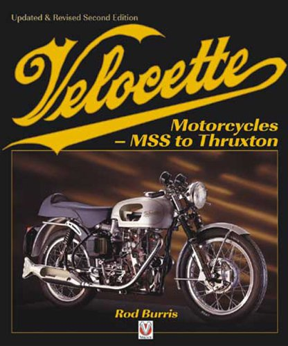 9781904788287: Velocette Motorcycles: MSS to Thruxton