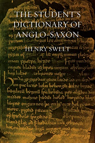 9781904799092: The Student's Dictionary of Anglo-Saxon