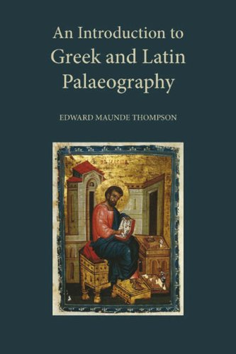 9781904799306: An Introduction to Greek and Latin Palaeography