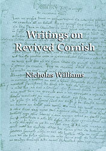 9781904808084: Writings on Revived Cornish