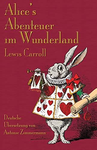 9781904808459: Alice's Abenteuer im Wunderland: Alice's Adventures in Wonderland in German