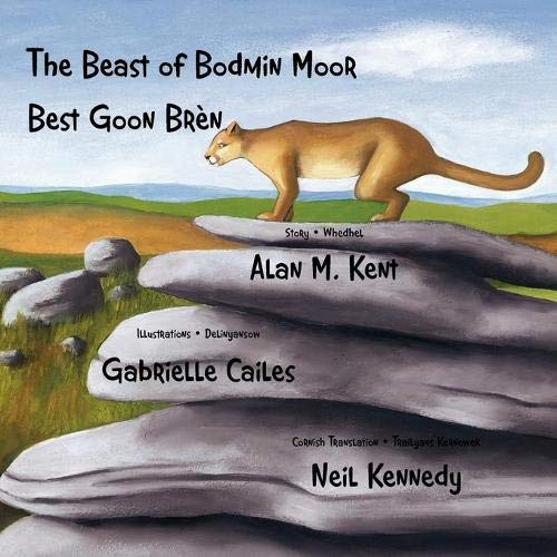 9781904808770: The Beast of Bodmin Moor: Best Goon Brèn (Cornish and English Edition)