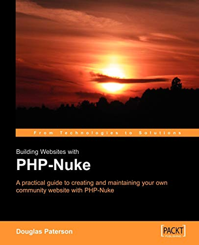 Building Websites with PHP-Nuke: Douglas Paterson