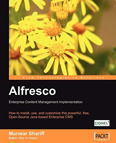 9781904811114: Alfresco Enterprise Content Management Implementation