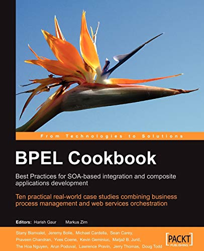 9781904811336: BPEL Cookbook: Best Practices for SOA-based integration and composite applications development: Ten practical real-world case studies combining ... management and web services orchestration