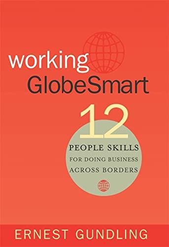 9781904838258: Working GlobeSmart: 12 People Skills for Doing Business Across Borders