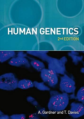 9781904842736: Human Genetics