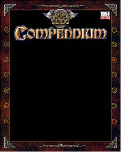 Slayer's Guide Compendium I: Christopher Allen