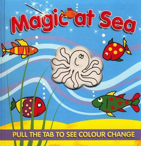 Magic Colour Change Book: Magic Wild Animals / Magic at Sea