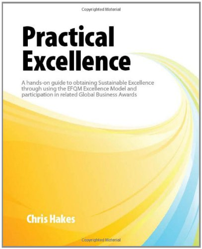 9781904861010: Practical Excellence: A Hands-on Good Practice Guide to Obtaining Sustainable Excellence Through Using the EFQM Excellence Model and Participation in Related Global Business Awards