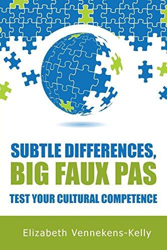 9781904881667: Subtle Differences, Big Faux Pas - Test Your Cultural Competence