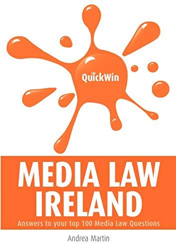 9781904887461: Quick Win Media Law Ireland