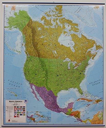 9781904892083: America North pol. lam. + hanging metal strips mi ...