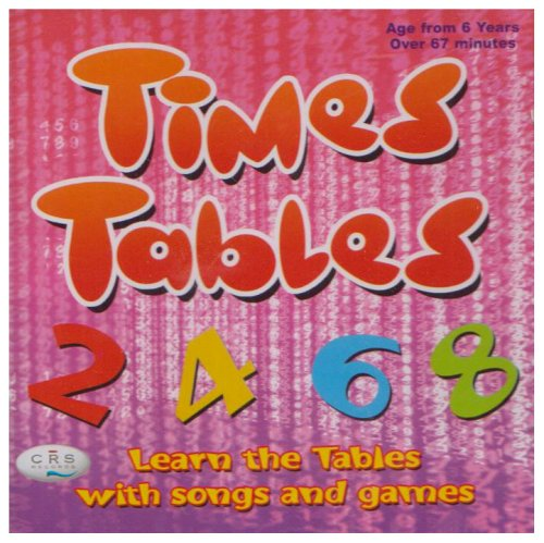 9781904903963: Times Tables CD Learn the Tables with Songs and Games
