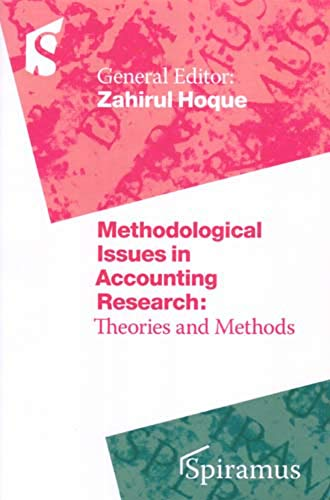 9781904905134: Methodological Issues in Accounting Research: Theories and Methods