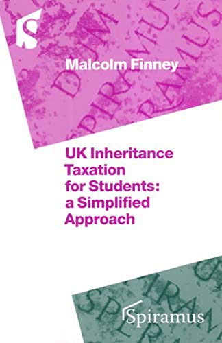 9781904905172: UK Inheritance Tax for Students: A Simplified Approach