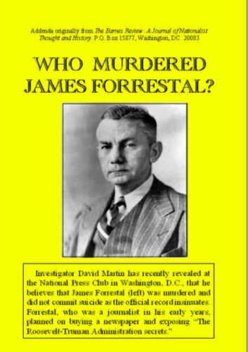 9781904911418: The Death of James Forrestal: Secretary of Defence in the Truman Administration