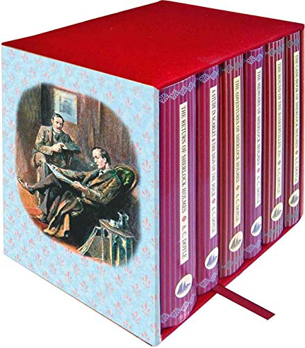 9781904919728: Sherlock Holmes 6-Book Boxed Set: Containing: The Adventures of Sherlock Holmes, The Casebook of Sherlock Holmes, The Hound of the Baskervilles & The ... & The Sign of the Four (Collector's Library)