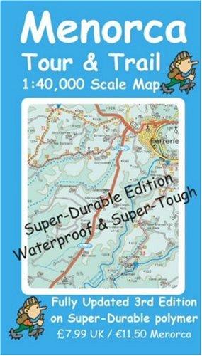 9781904946038: Menorca Tour and Trail Map Super-durable Version (Tour & Trail Maps)