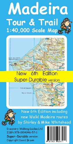 9781904946571: Madeira Tour and Trail Map Super-durable Version (Tour & Trail Maps)