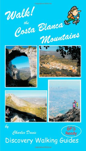 9781904946854: Walk! the Costa Blanca Mountains