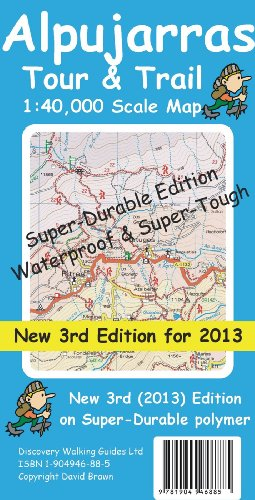 Alpujarras Tour & Trail Super-Durable Map: David Brawn