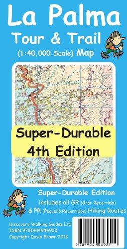 9781904946922: Palma Tour & Trail Super-Durable Map