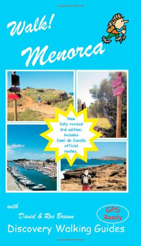 Walk! Menorca (Paperback): David Brawn, Ros