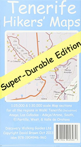 9781904946960: Tenerife Hikers' Super-Durable Maps