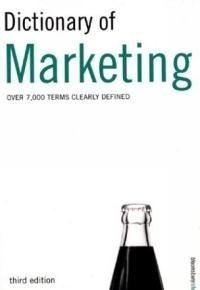 Dictionary of Marketing: Peter Hodgson Collin;