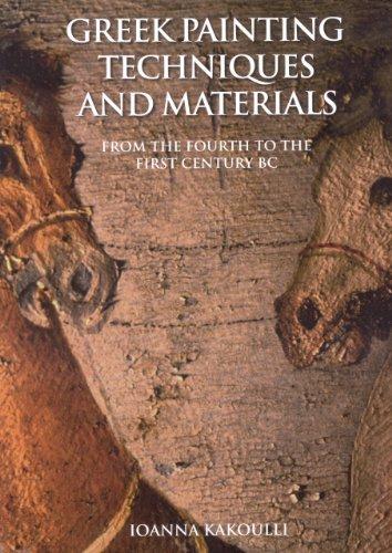 9781904982425: Greek Painting Techniques and Materials: From the Fourth to the First Century BC