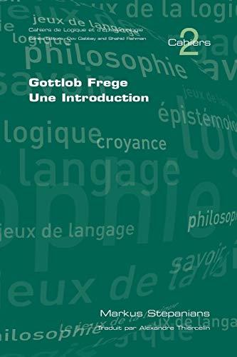 9781904987512: Gottlob Frege: Une Introduction