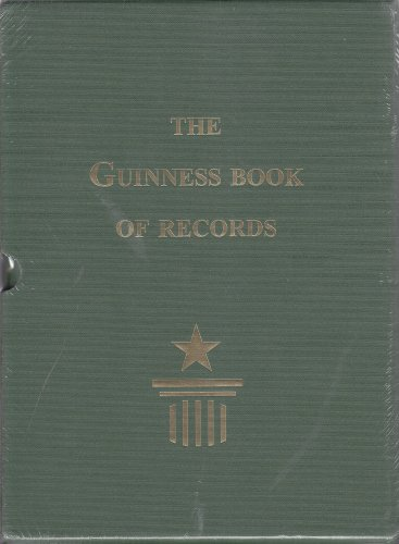 guinness book of records facsimile first edition 1955 guinness
