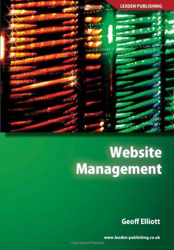 9781904995210: Website Management (Computing Study Texts)