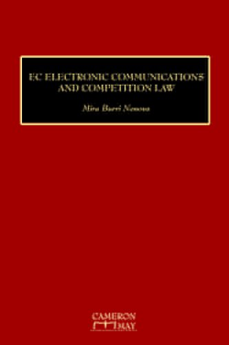 9781905017485: EC Electronic Communications and Competition Law