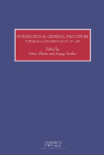 9781905017942: International Criminal Procedure: Towards a Coherent Body of Law